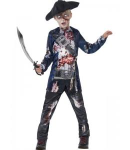 Disfraz de Pirata Zombie Infantil