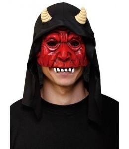 Media Mascara de Demonio con Capucha