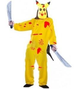 Disfraz de Pikachu Asesino Infantil