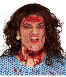 Cicatriz Garganta Cortada