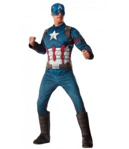 Disfraz de Capitan America Deluxe