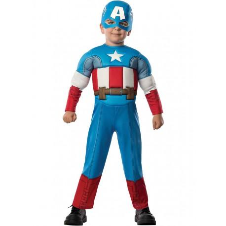 Disfraz de Capitan America Bebe