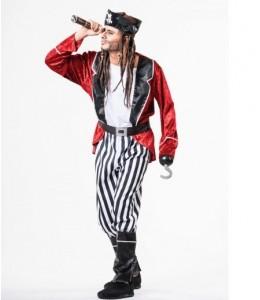 Disfraz de Pirata Granate
