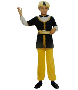 Disfraz de Sultan Azul Infantil