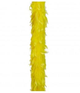 Boa de Plumas Amarilla