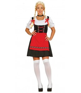 Disfraz de Tirolesa Roja