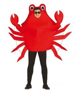 Disfraz dde Cangrejo Rojo