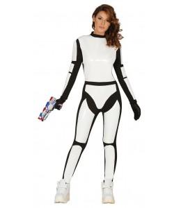 Disfraz de Soldado Espacial Mujer