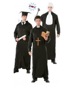 Disfraz de Tunica Cura-Juez-Estudiante