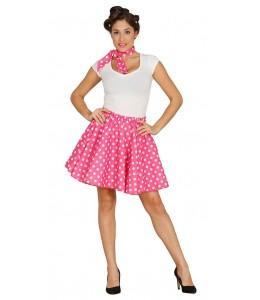 Disfraz de Set Pin Up Rosa