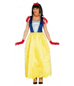 Disfraz de Princesa de las Nieves Largo