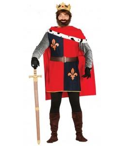 Disfraz de Rey Medieval Conquistador