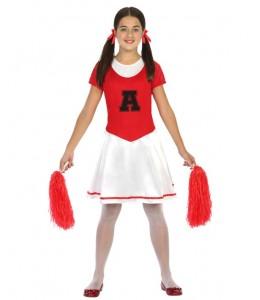 Disfraz de Animadora años 50 Infantil