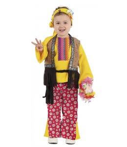 Disfraz de Hippie Niña Bebe