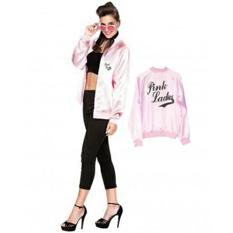 Disfraz de Pink Lady con Serigrafia