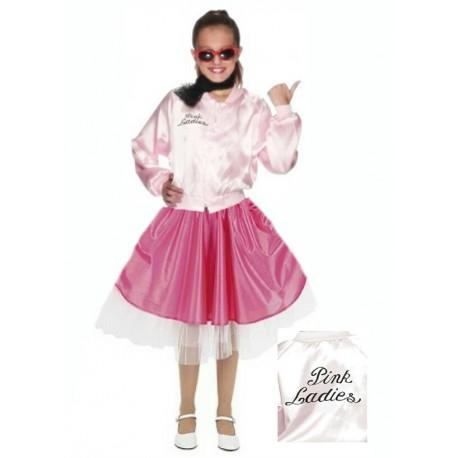 Disfraz de Pink Ladies Infantil