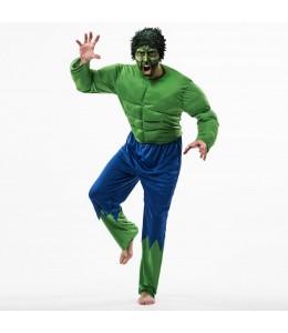 Disfraz de Forzudo Verde