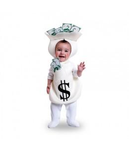 Disfraz de Bolsa de Dinero Bebe