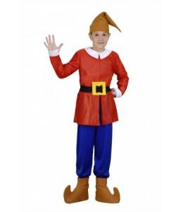 Disfraz de Enanito Rojo Infantil