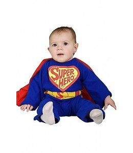 Disfraz de Super Heroe Bebe