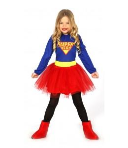 Disfraz de Super Hero Chica Infantil