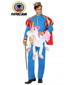 Disfraz de Principe en Unicornio