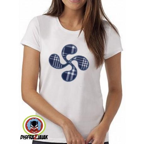 0675d0728 Comprar Camiseta Lauburu mujer por solo 16.00€ – Tienda de disfraces ...