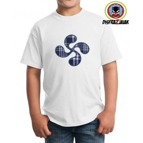 Camiseta Lauburu niño