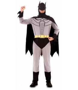 Disfraz de Bat Boy Heroe Gris