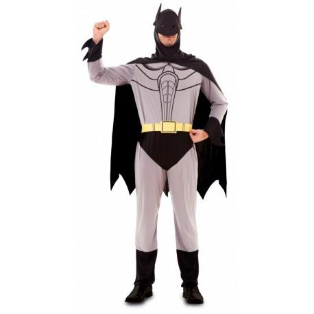 Disfraz de Batman Gris