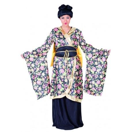 Disfraz de Geisha Flores