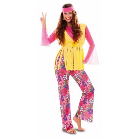 Disfraz de Hippie Chica