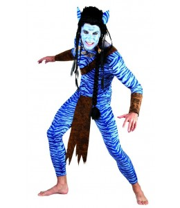 Disfraz de Avatar Chico
