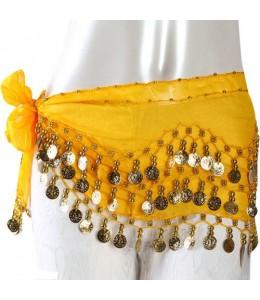 Pañuelo de Monedas Amarillo