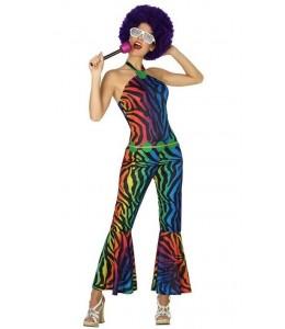 Disfraz de Disco Colores