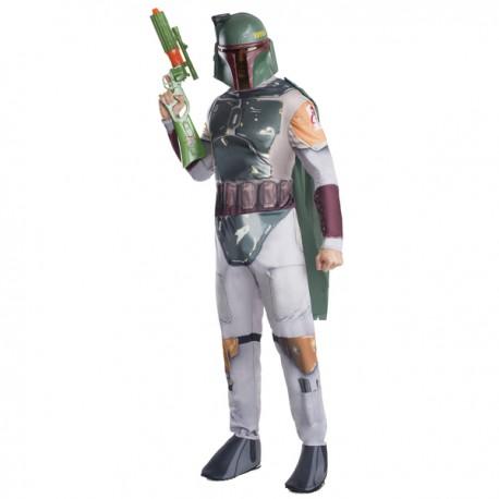 Comprar Disfraz de Boba Fett Star Wars por solo 60.00€ – Tienda de ... ab2f9326be2