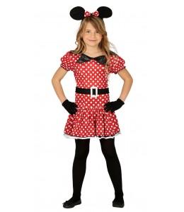 Disfraz de Ratita Minnie Infatil