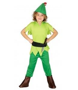 Disfraz de Arquero Peter Pan infantil