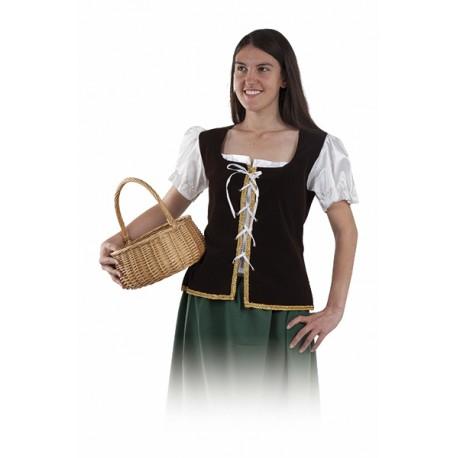 Corpiño Medieval con Camisa
