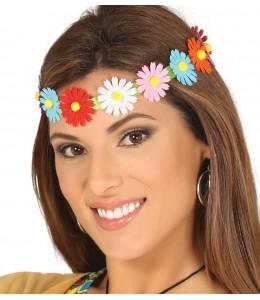 DIadema/Cinta con Flores Multicolor