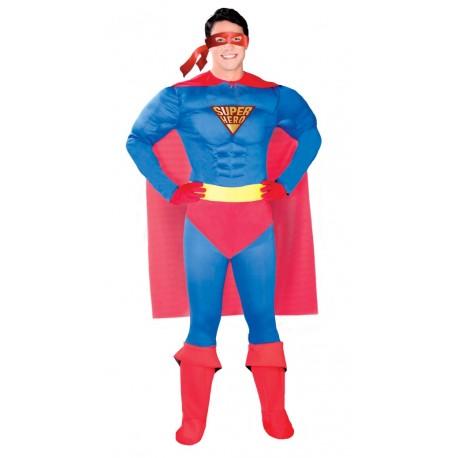 Disfraz de Super Hero Musculoso