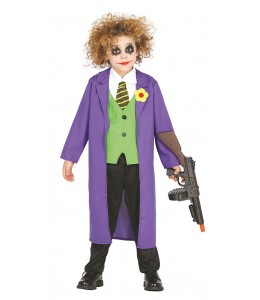 Disfraz de Bufon de Comic Infantil
