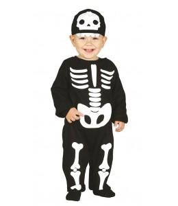 Disfraz de Esqueleto Baby