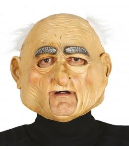 Mascara Viejo con Pelo