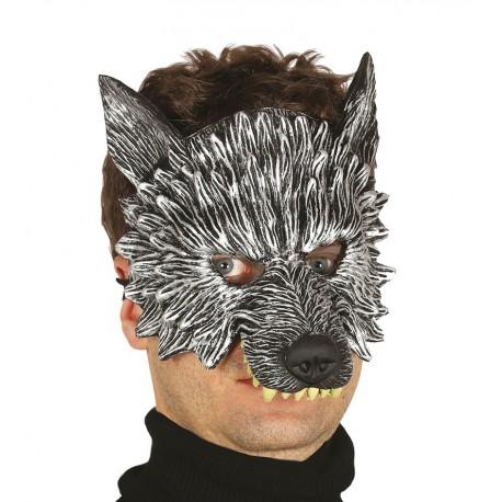 Comprar Media Mascara Lobo Por Solo 5 50 Tienda De Disfraces Online
