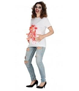 Disfraz de Zombie para Embarazada