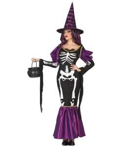 Disfraz de Bruja Esqueleto