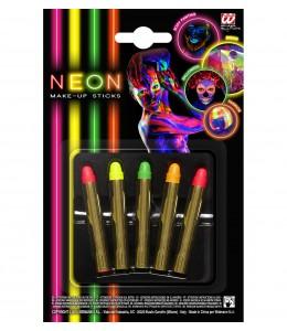 Set de Maquillaje Barras Neon.