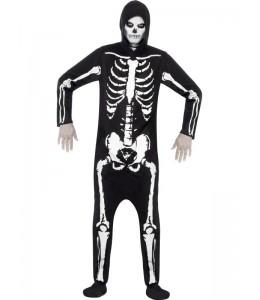 Disfraz de Esqueleto con Capucha