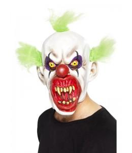 Mascara de Payaso Asesino Verde